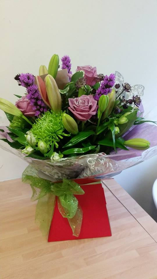 £25.00 Aqua packed hand tied