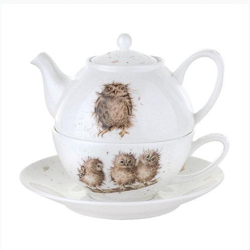 Tea for one Wrendale Owl Design