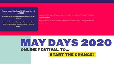 Festival Start The Change ! May Days MFR