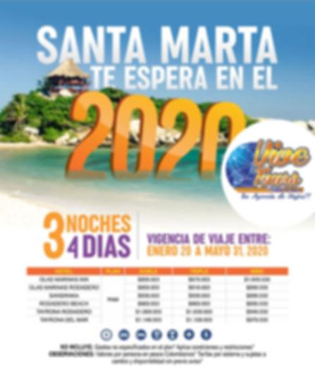 Santa Marta 2020