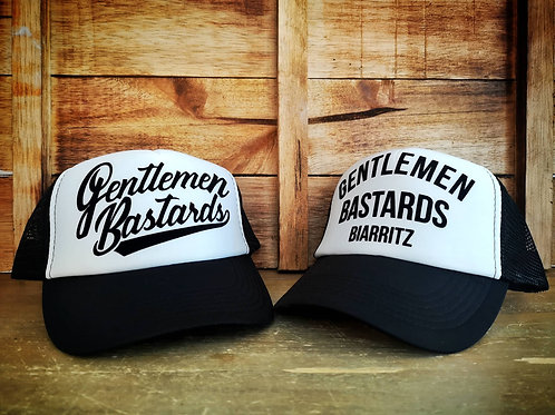 TRUCKER GENTLEMEN BASTARDS BLACK