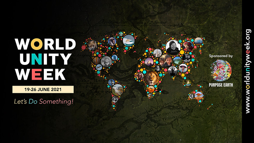 WorldUnityWeekCoverPicPurposeEarth.jpg
