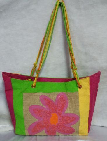 Multi strand Colourful Handbag