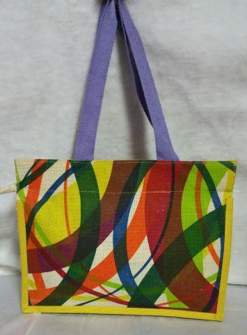 Multicolour Square Handbag