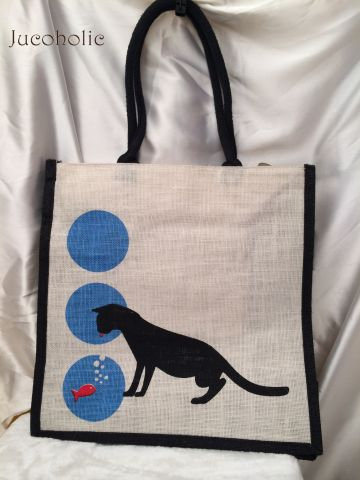 Dog print Handbag