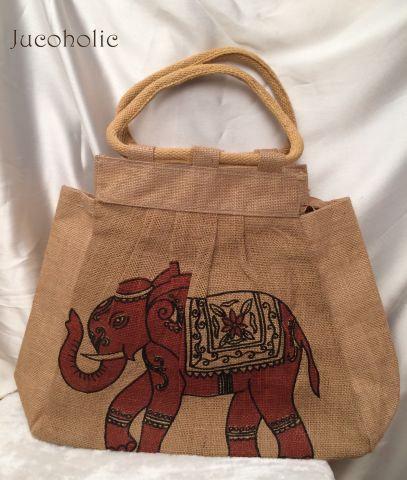 Elephant print Handbag
