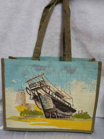 Boat Print Handbag