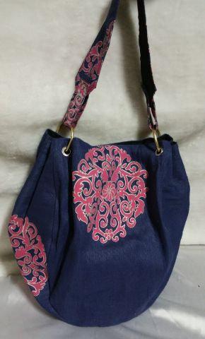 Blue Bangle Handbag