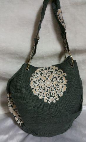 Grey Bangle Handbag