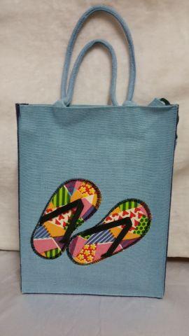 Slipper Patchwork Handbag