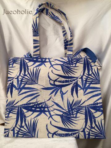 Leaf print Handbag