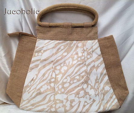 Jute Cotton Handbag