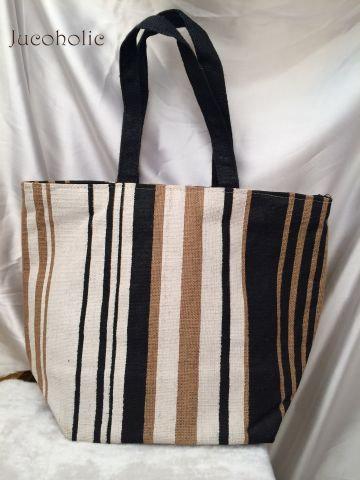 Stripes Handbag