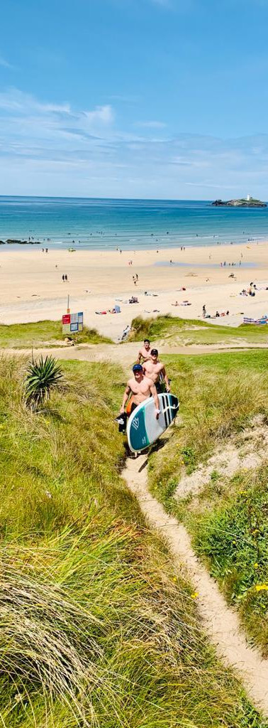 One of Cornwall's best surfing beaches