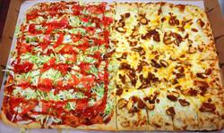 Sheet Pizza-Mexican & Chicken Finger
