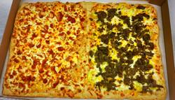 Sheet Pizza- Chicken Finger & Steak