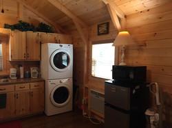 Laundry Refrigerator & Microwave
