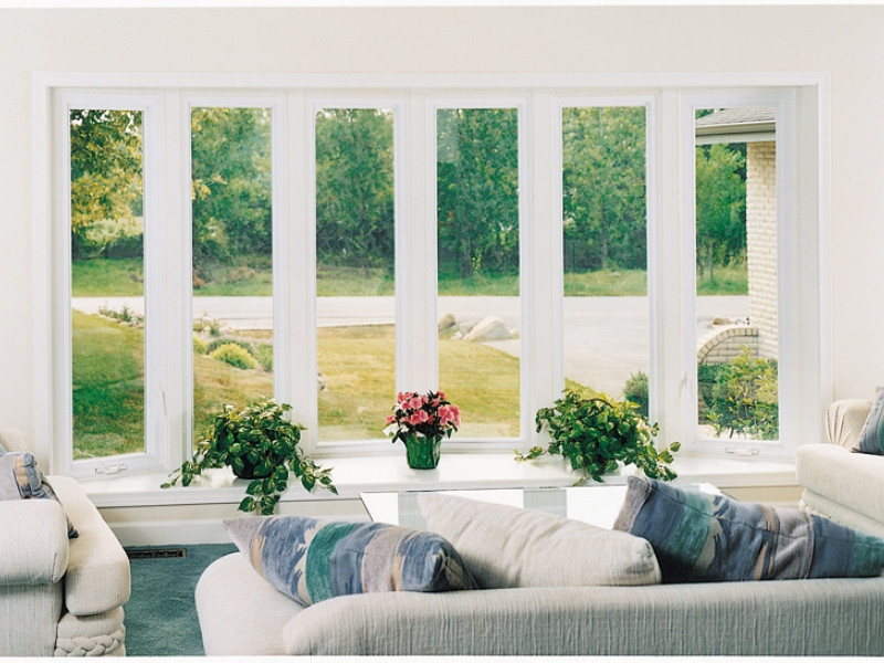 Bow windows from Slocomb Windows and Doors