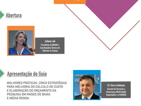 """Participe do Webinar dia 23/7 sobre """"Custos e atração de recursos internacionais"""""""