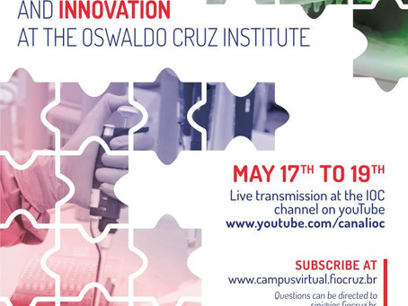 Simpósio Internacional de Pesquisa e Inovação - Instituto Oswaldo Cruz - 17 a 19 de Maio