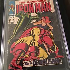 The Invincible Iron Man #2: Enter... the Demolisher