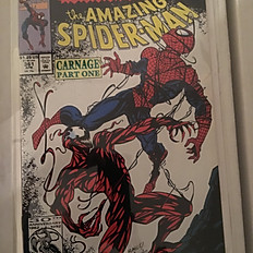 The Amazing Spiderman #361: Carnage Part 1