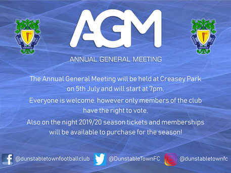 ANNUAL GENERAL MEETING!!!