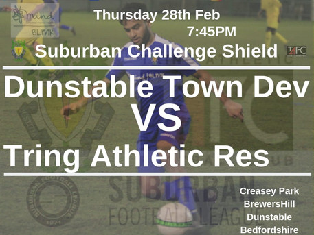 Thursday night football back at Creasey for the Town.....