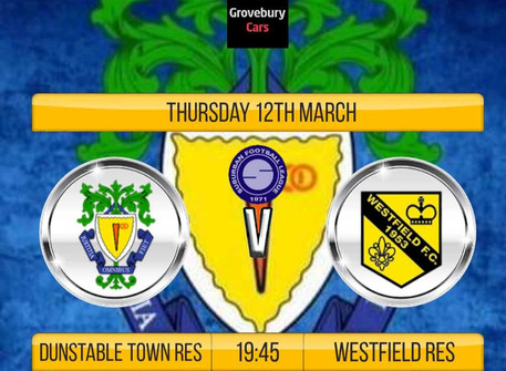 Development team take on Westfield tonight.