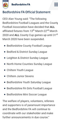BEDS FA STATEMENT.