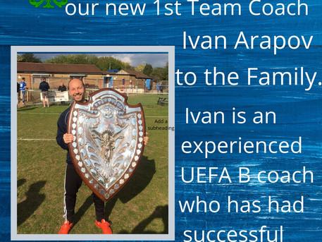 First team coach announced.