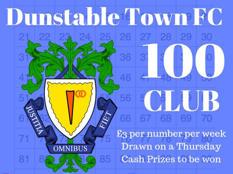 100 Club draw tonight...