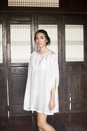 Pearl Peasant Dress