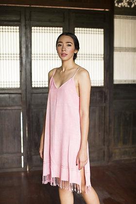 Fushia Sunflower Dress