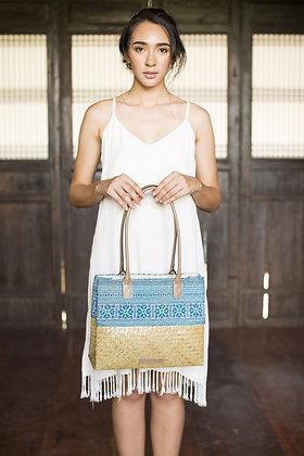 Blue Forrest Shopping Bag