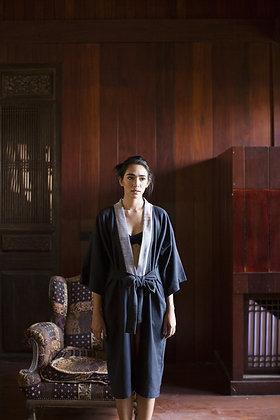 Long Apricot Kimono