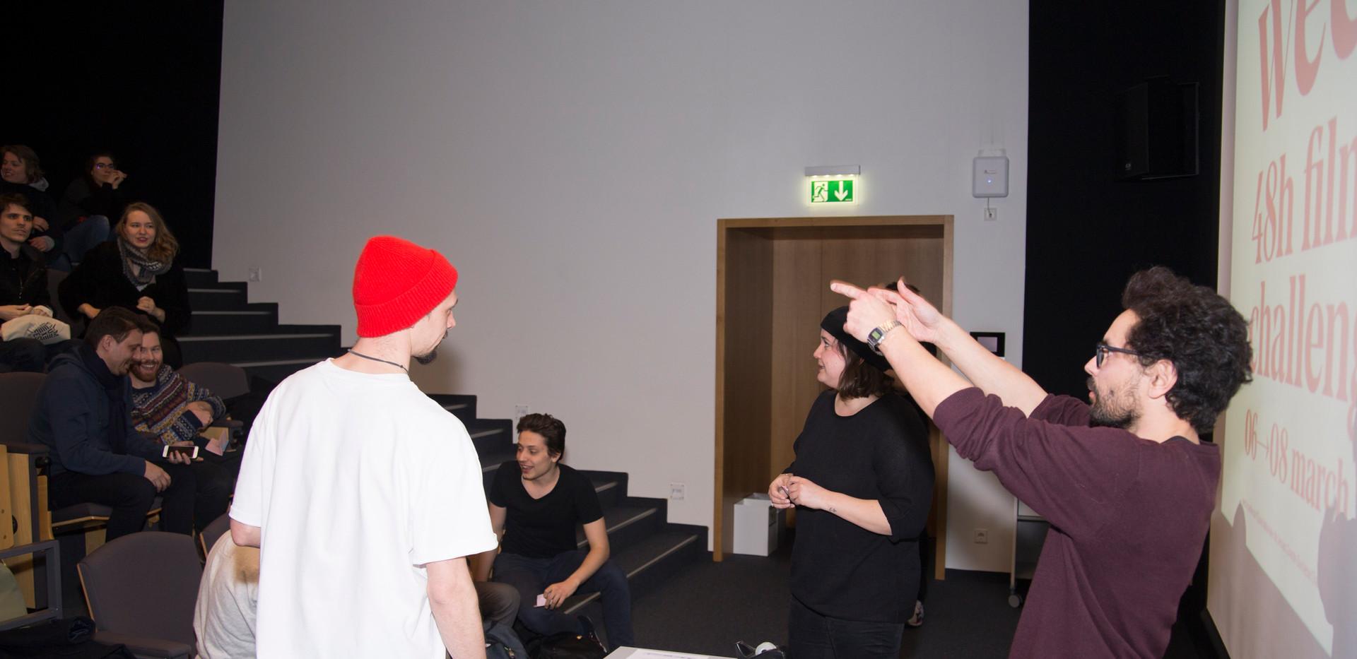 Behind the scenes - LW2020