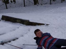Les P3-4 font du ski!