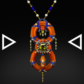 The Solar-Eternity Necklace