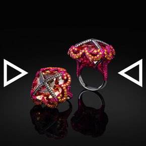 The Cross of Delight Ring