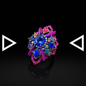 The Magentian Chakra Ring