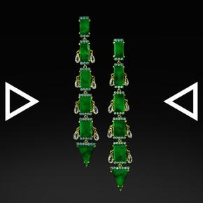 The Arrow to the Treasureland Earrings