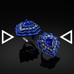 The Iznik's Heart Ring