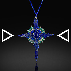 The Blue Divine Pendant