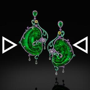 Jade Phoenix Earrings