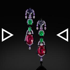 The Neon Tetra Earrings