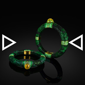 The Chinese Numismatic-charms Bangle