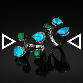 The Deco-arte Rings