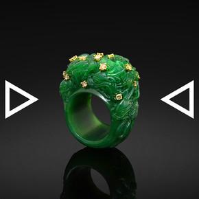 The Nine Dragon Screen Ring