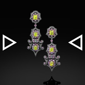 The Queen Mary's Rose Earrings
